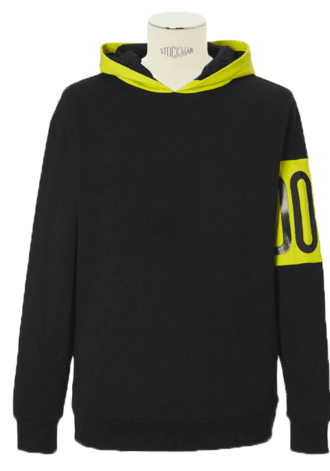 DOPE COUTURE COLOR BLOCKED PULLOVER
