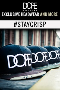 DOPE Couture Hats & More - Streetwear Apparel - Crisp Exclusive Lifestyle Boutique