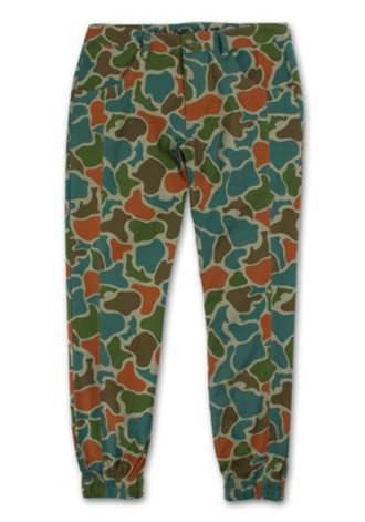 PINK DOLPHIN FROG CAMO PANTS