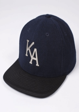 KING APPAREL Letterman 6 Panel Snapback Cap