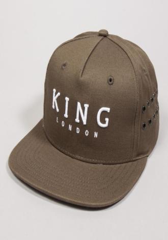 5d517550a14 ... KING APPAREL Stepney Pinch Panel Snapback Cap