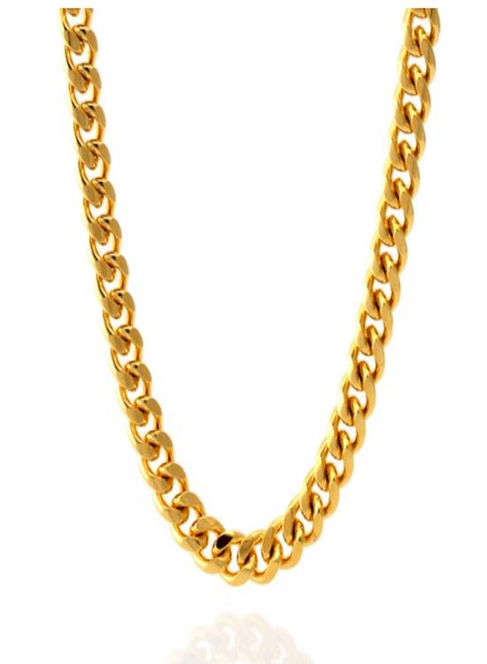 f2eba9c99edca KING ICE 10MM 14K Gold Miami Cuban Curb Chain