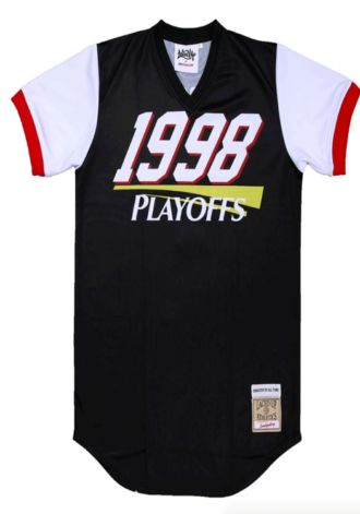 "SNEAKER GALLERY 1998 Playoffs ""Tour"" Warmup Jersey"