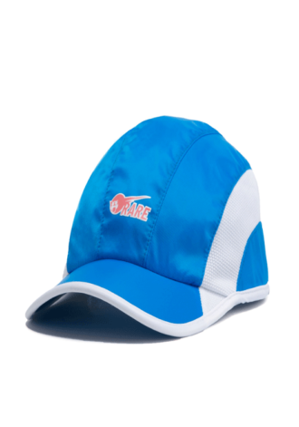 PINK DOLPHIN Rare Ghost Nylon Runner Hat in Blue
