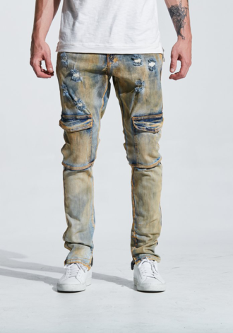 EMBELLISH NYC - Darren Cargo Denim
