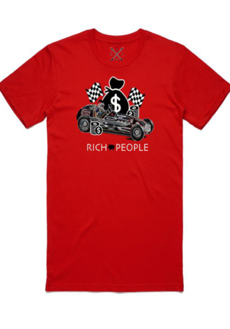 RICH PEOPLE Race to the Bank Tee