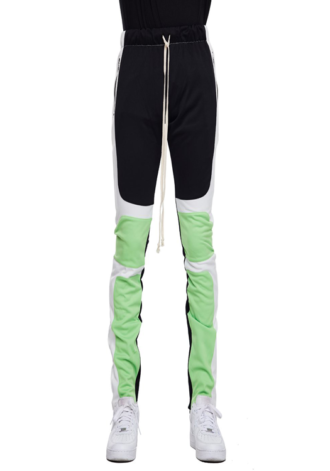 EPTM Motocross Pants Black/White/Lime