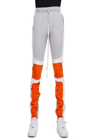 EPTM Motocross Pants Silver/White/Orange