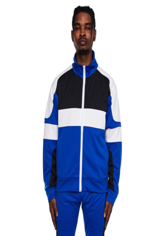 EPTM Motocross Jacket Blue/Black/White