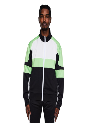 EPTM Motocross Jacket Black/White/Lime
