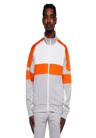 EPTM Motocross Jacket Silver/White/Orange