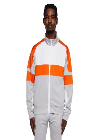 EPTM Motocross Jacket Silver/White/Orange