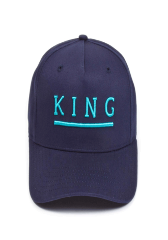 KING APPAREL Shadwell Curved Peak Cap - Ink