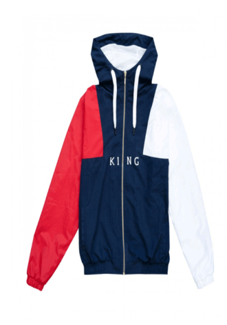KING APPAREL Aldgate Shell Track Hoodie