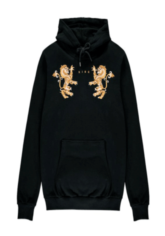 KING APPAREL Prestige Track Hoodie - Black